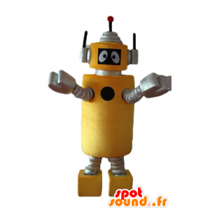 Mascot Plex, το κίτρινο ρομπότ Yo Gabba Gabba - MASFR23636 - Mascottes Yo Gabba Gabba