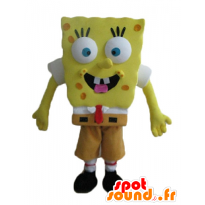 SpongeBob mascot, yellow cartoon character - MASFR23639 - Mascots Sponge Bob