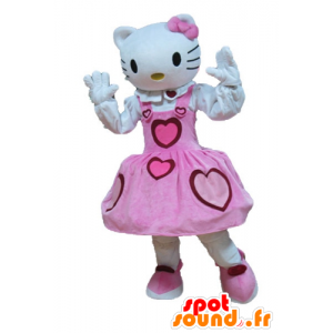 Mascotte d'Hello Kitty, célèbre chat de dessin animé - MASFR23642 - Mascottes Hello Kitty