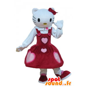 Mascotte d'Hello Kitty, célèbre chat de dessin animé - MASFR23643 - Mascottes Hello Kitty