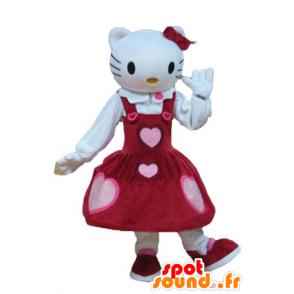 Mascot Hello Kitty, the famous cartoon cat - MASFR23643 - Mascots Hello Kitty