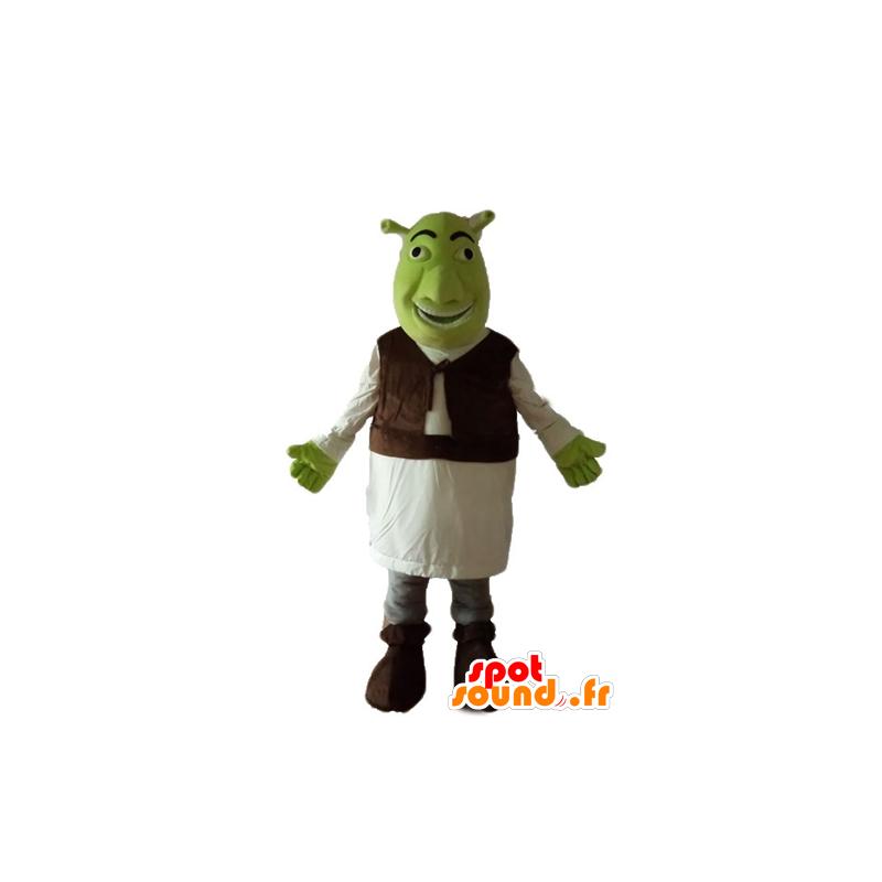 Mascotte de Shrek, le célèbre ogre vert de dessin animé - MASFR23654 - Mascottes Shrek