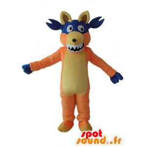 Boots mascot, the famous monkey Dora the Explorer