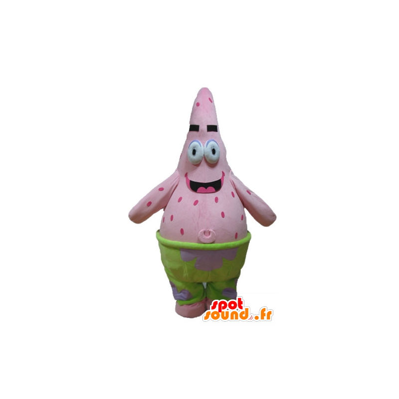 Mascotte de Patrick, célèbre étoile de mer rose, de Bob l'éponge - MASFR23665 - Mascottes Bob l'éponge