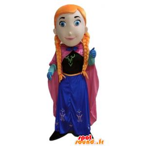 Rødhåret maskot, prinsesse med fletter - MASFR23667 - Maskoter gutter og jenter