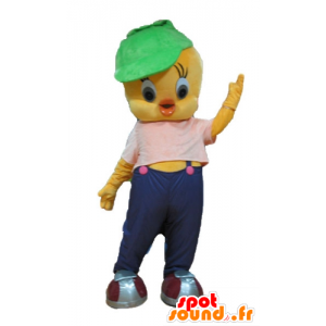 Titi-Maskottchen, berühmt kanariengelben Looney Tunes
