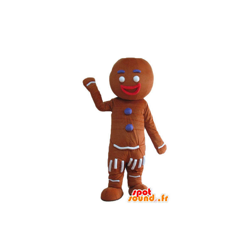 Ti cookie mascot, famous gingerbread in Shrek - MASFR23675 - Mascots Shrek