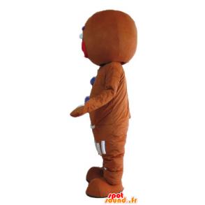Ti mascote biscoito, famoso pão de gengibre em Shrek - MASFR23675 - Shrek Mascotes