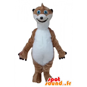 Mascot brown and white lemur, Timon - MASFR23676 - Animals of the forest
