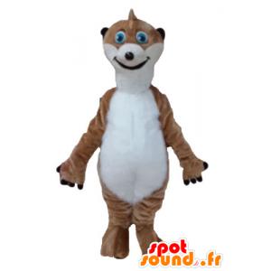 Mascot bruin en wit lemur, Timon - MASFR23676 - Forest Animals