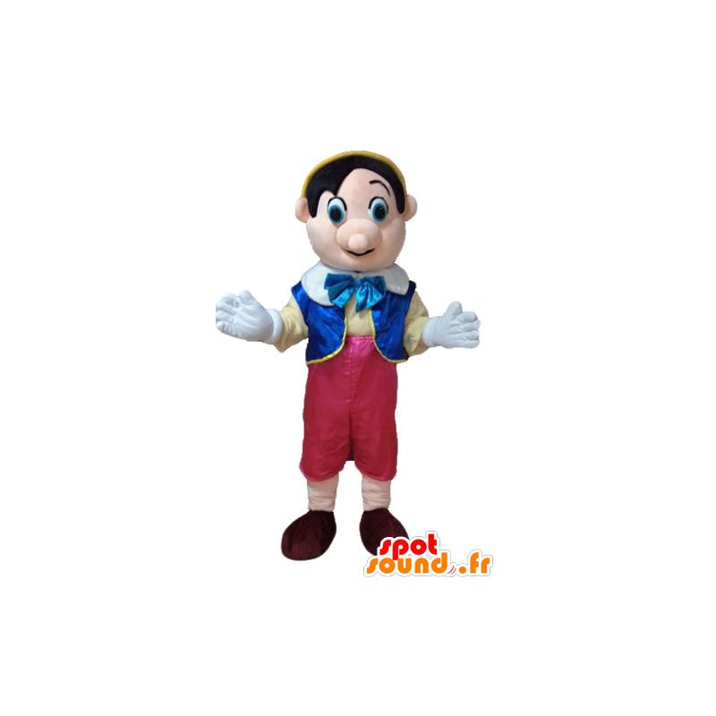 Mascotte de Pinocchio, célèbre personnage de dessin animé - MASFR23677 - Mascottes Pinocchio