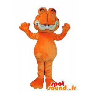Garfield mascot, famous orange cat cartoon - MASFR23683 - Mascots Garfield