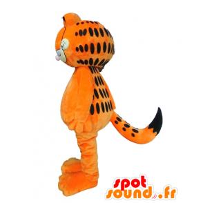 Mascotte de Garfield, célèbre chat orange de dessin animé - MASFR23683 - Mascottes Garfield