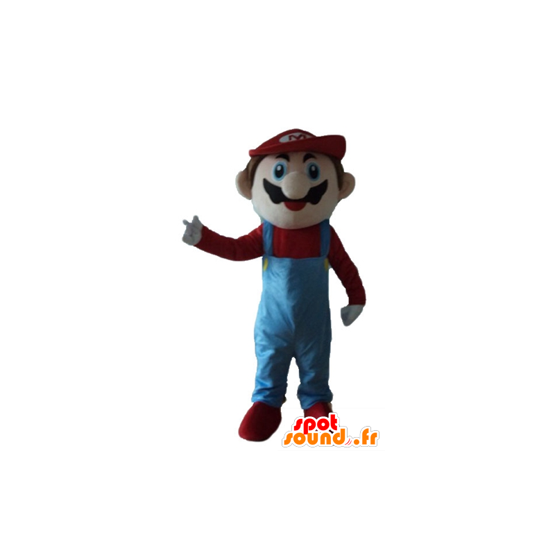 Mascot Mario, the famous video game character - MASFR23690 - Mascots Mario