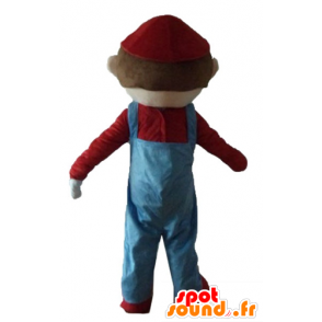 Mascotte de Mario, célèbre personnage de jeu vidéo - MASFR23690 - Mascottes Mario