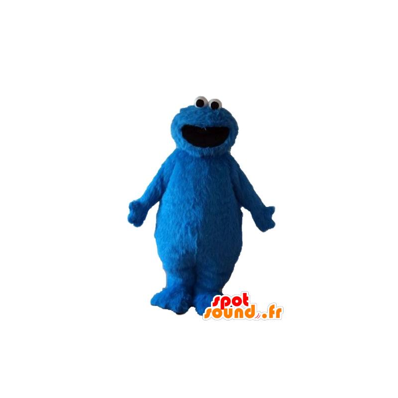 Elmo mascot, hairy monster, blue puppet - MASFR23691 - Mascots 1 Elmo sesame Street