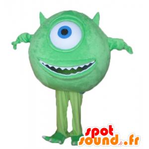 Mascot Mike Wazowski famoso personaje de Monsters and Co. - MASFR23696 - CIE & mascotas monstruo
