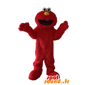 セサミストリートの有名な赤い人形、マスコットエルモ-MASFR23700-マスコット1rueセサミエルモ