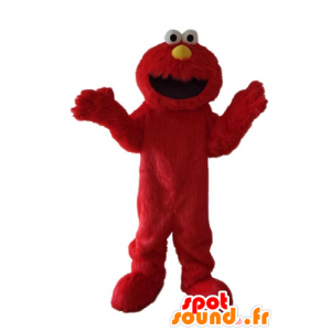 Elmo maskot, den berømte røde Sesame Street dukketeater