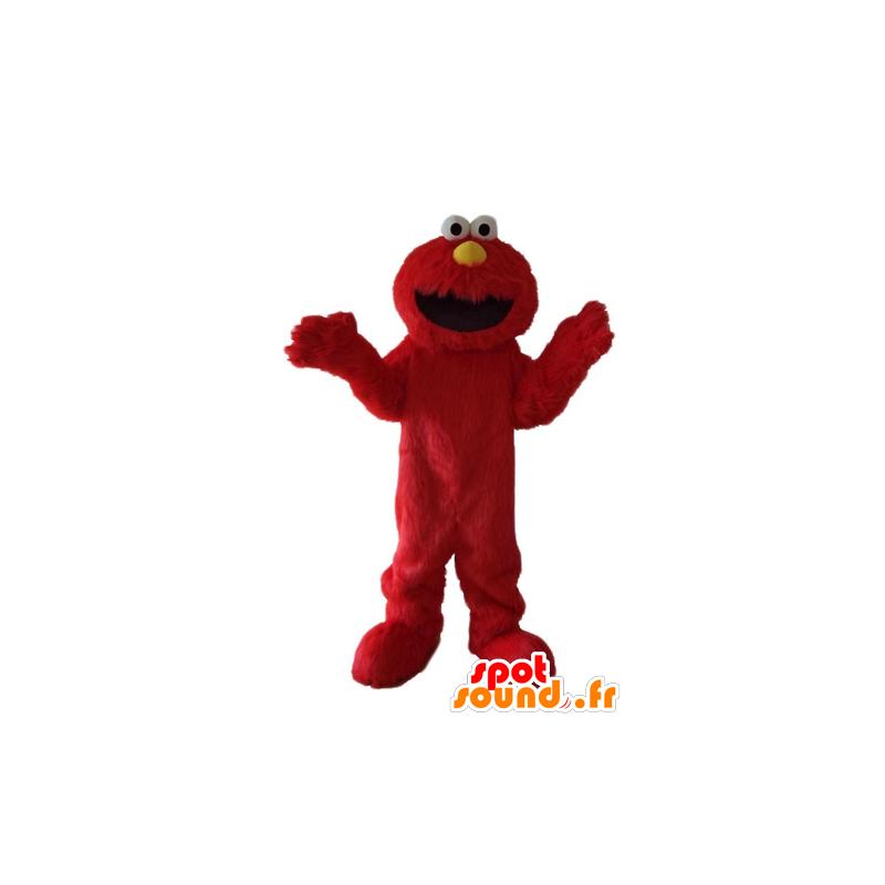 Elmo mascot, the famous red Sesame Street puppet - MASFR23700 - Mascots 1 Elmo sesame Street