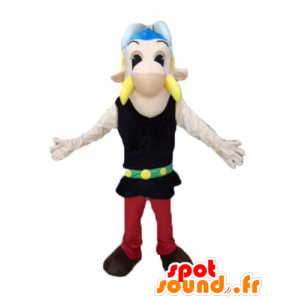 Mascot Asterix beroemde Gallische cartoon