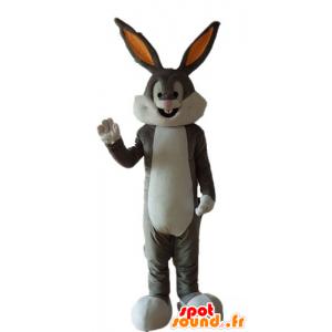 Mascotte de Bugs Bunny, célèbre lapin gris des Looney Tunes - MASFR23705 - Mascottes Bugs Bunny