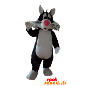 Sylvester Mascot famous black cat cartoon