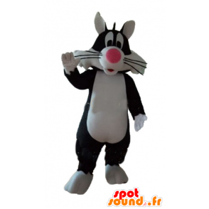 Sylvester Mascot famous black cat cartoon - MASFR23707 - Mascots Tweety and Sylvester