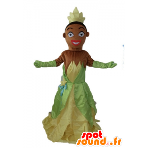 Mascot Princess Tiana, of The Princess and the Frog