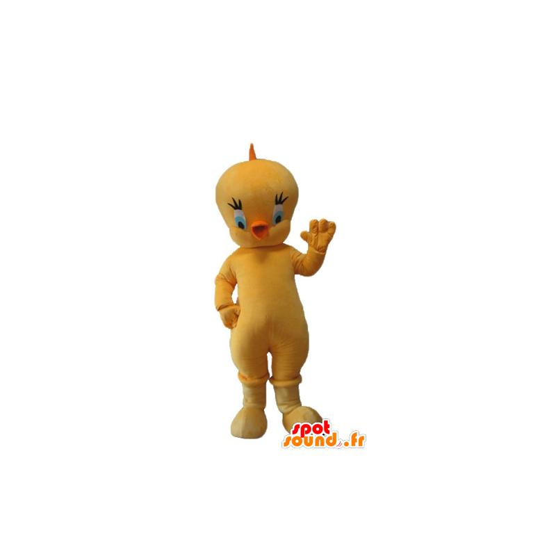 Titi-Maskottchen, das berühmte kanariengelben Looney Tunes - MASFR23714 - Maskottchen Tweety und Sylvester