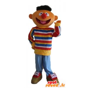 Mascotte d'Ernest, célèbre marionnette de Rue Sésame - MASFR23722 - Mascottes 1 rue sesame Elmo