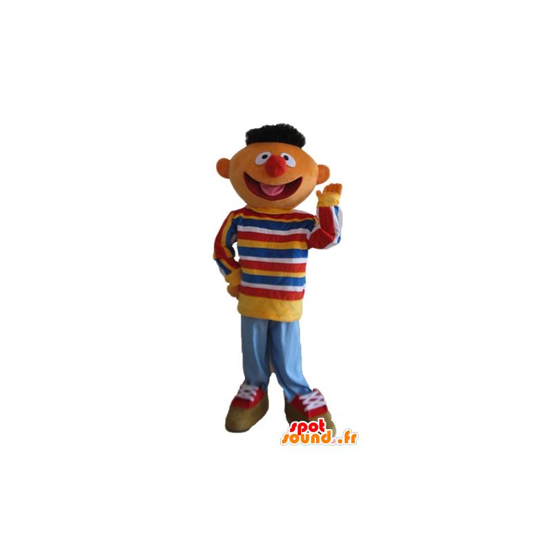 Mascotte Ernest famous puppet of Sesame Street - MASFR23722 - Mascots 1 Elmo sesame Street