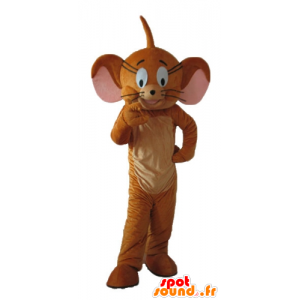 Jerry mascotte, de beroemde muis Looney Tunes - MASFR23726 - Mascottes Tom and Jerry
