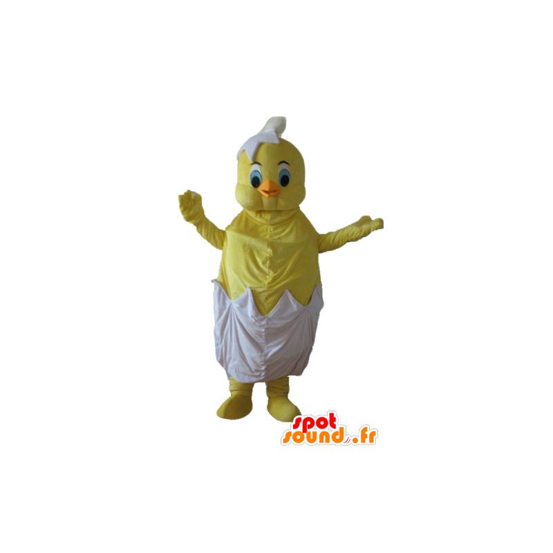 Mascotte de Titi, le célèbre canari jaune des Looney Tunes - MASFR23728 - Mascottes TiTi et Grosminet