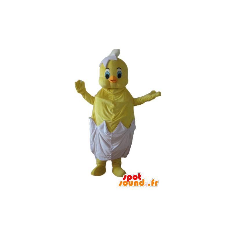 Titi maskot, den berømte kanarigul Looney Tunes - MASFR23728 - Maskoter TiTi og Sylvester