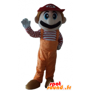 Mascot Mario, the famous video game character - MASFR23732 - Mascots Mario