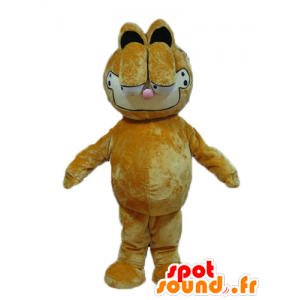 Garfield mascota, dibujo animado del gato famoso de naranja