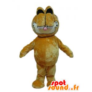 Garfield mascote, laranja famoso gato dos desenhos animados - MASFR23734 - Garfield Mascotes