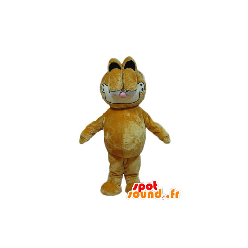 Mascotte de Garfield, célèbre chat orange de dessin animé - MASFR23734 - Mascottes Garfield