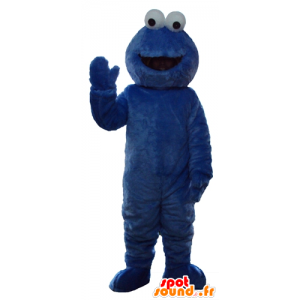 Elmo μασκότ, διάσημο Μπλε Κουκλοθέατρο Sesame Street