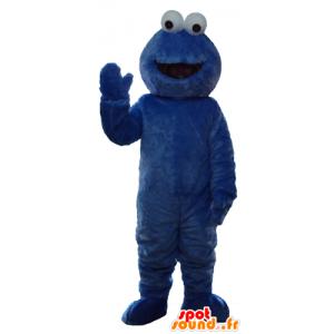 Mascotte d'Elmo, célèbre marionnette bleue de Rue Sésame - MASFR23749 - Mascottes 1 rue sesame Elmo