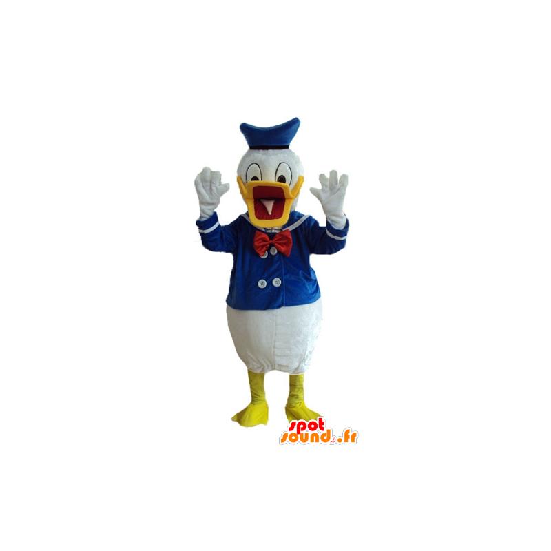 Mascotte de Donald Duck, célèbre canard habillé en marin - MASFR23750 - Mascottes Donald Duck