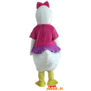 Mascotte de Daisy, copine de Donald Duck de Disney - MASFR23755 - Mascottes Donald Duck