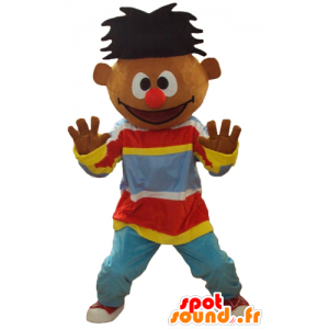 Mascot Ernest famoso boneco de Sesame Street