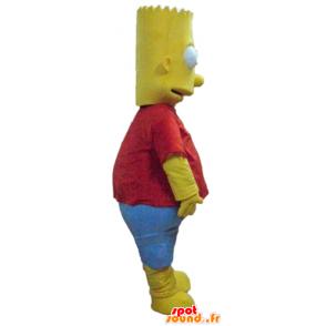 Mascotte Bart Simpson, která je známá kreslená postavička - MASFR23767 - Maskoti The Simpsons