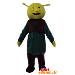 Mascotte de Shrek, le célèbre ogre vert de dessin animé - MASFR23769 - Mascottes Shrek