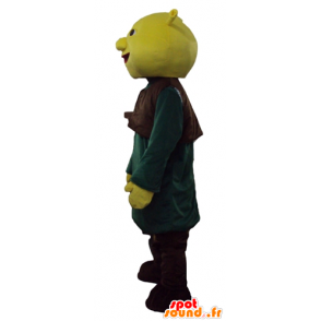 Shrek mascot, the famous green ogre cartoon - MASFR23769 - Mascots Shrek