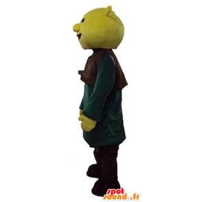 Shrek Maskottchen, das berühmte grüne Oger cartoon - MASFR23769 - Maskottchen Shrek