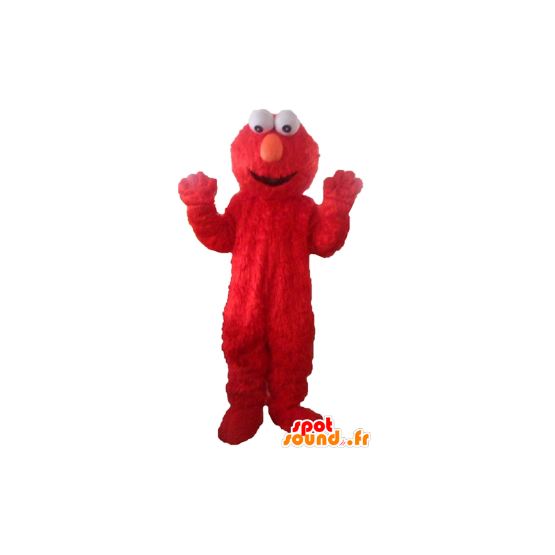 Elmo mascot, the famous red Sesame Street puppet - MASFR23773 - Mascots 1 Elmo sesame Street
