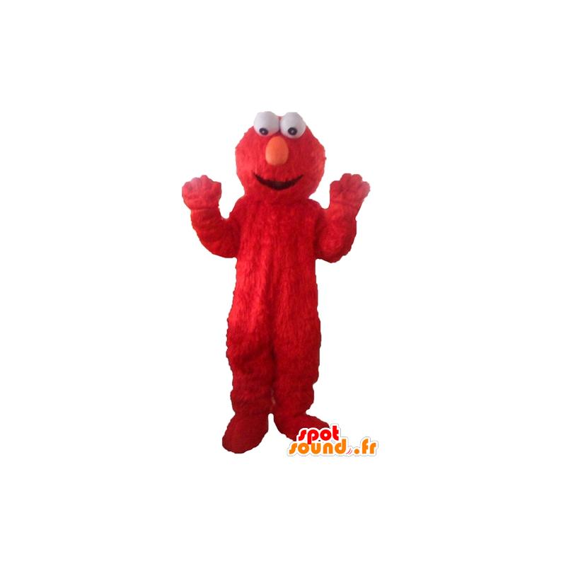 Elmo maskot, slavná červená Sesame Street loutkové - MASFR23773 - Maskoti 1 Sesame Street Elmo